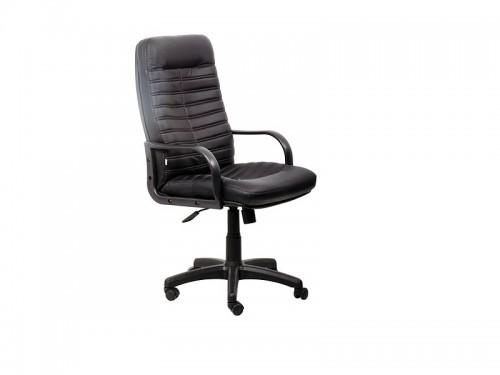 Кресло офисное Жордан PLN PU01 экокожа черная