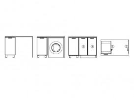 Боковая стенка БС864/150 СВ 864х540