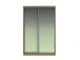 Фасад Жаклин Вариант 2: МЗ (Зеркало) + МЗ (Зеркало)