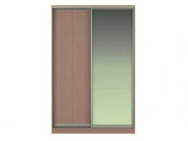 Фасад Жаклин Вариант 3: МЛ (ЛДСП) + МЗ (Зеркало)
