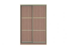 Фасад Жаклин Вариант 7: МТЛ (ЛДСП, разделенное на 3 части) + МТЛ (ЛДСП, разделенное на 3 части)