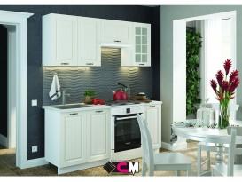 Модульная кухня Мария МДФ Дуб Белый